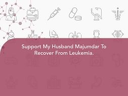 Support My Husband Majumdar To Recover From Leukemia.