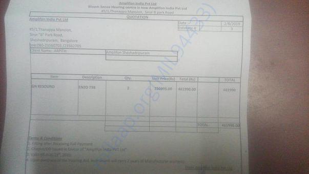 Estimation Document
