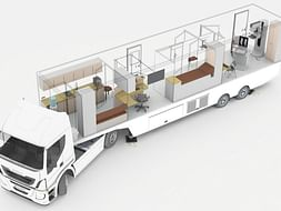 Mobile Mammogram Unit to combat breast cancer in a 30,000 sq. km area