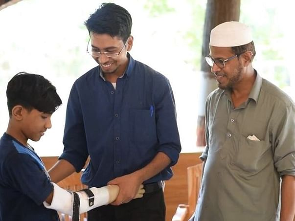 Help Prashant To Provide Prosthetic Arms For Free