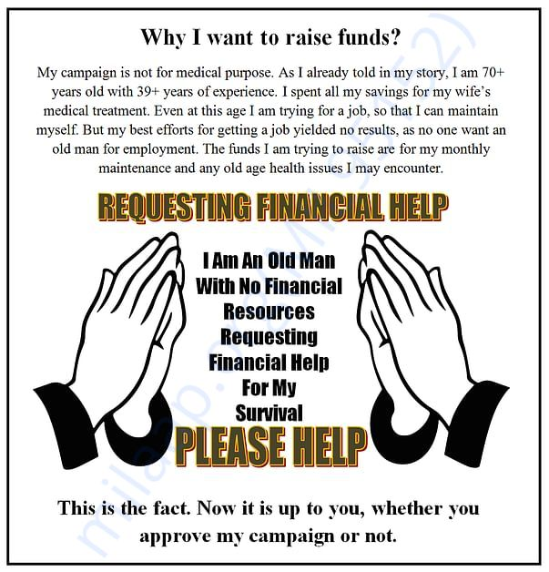 WHY I WANT TO RAISE FUNDS?