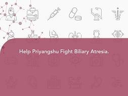 Help Priyangshu Fight Biliary Atresia.