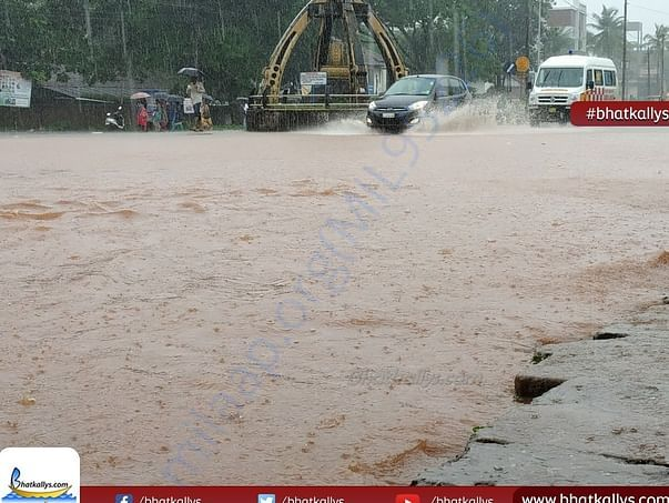 HIGHWAYS ARE AFFECTED BY FLOOD..