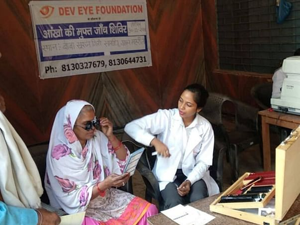 help us in treating eye diseases amongst destitute