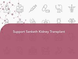 Support Sanketh Kidney Transplant