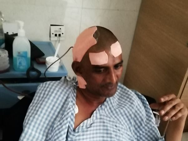 Help Mahesh Recover From Brain Tumor, Lung Cancer