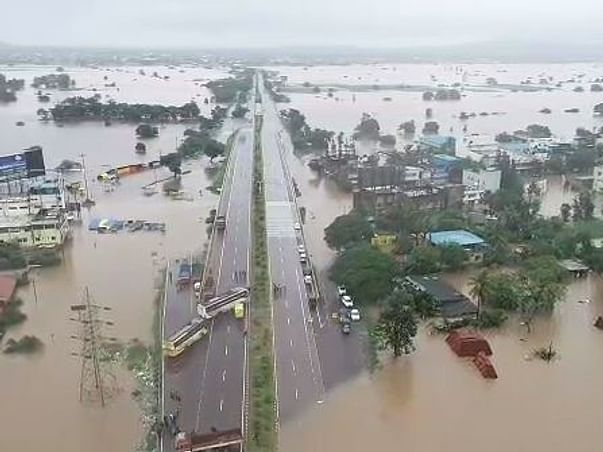 Help And Support Kolhapur People Under flood