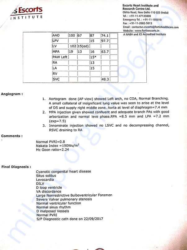 FORTIS ESCORTS REPORTS 1