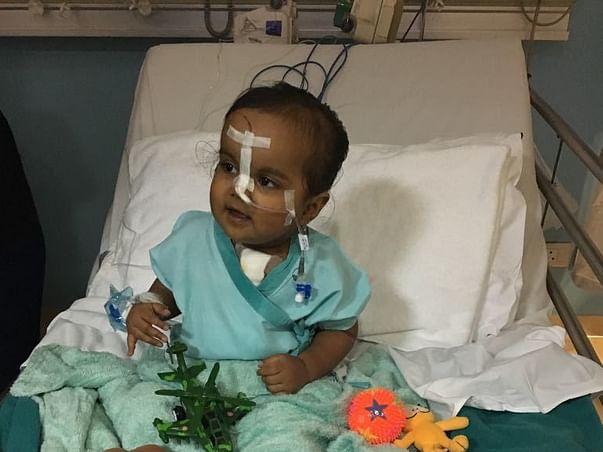 Help Me Save My Baby Undergo Cardiac Fontan Surgery