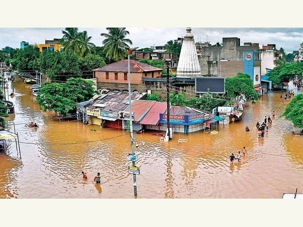 Give Strength To Sangli Flood Victims