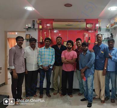 KAIFA Team with Actor/Music composer GV Prakash
