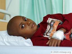Help Alif Fight Acute Lymphoblastic Leukemia
