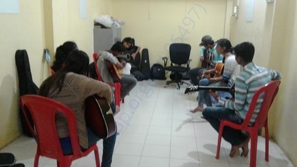 Our practice room
