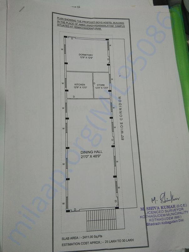Construction Building Planning for New Building