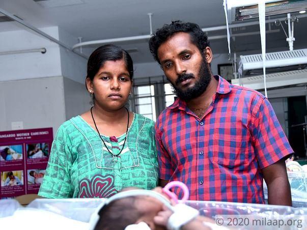 Help Nandhini's Baby Recover