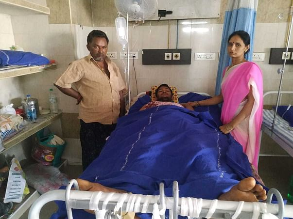 We required your support to Hip Joint surgery for that boy