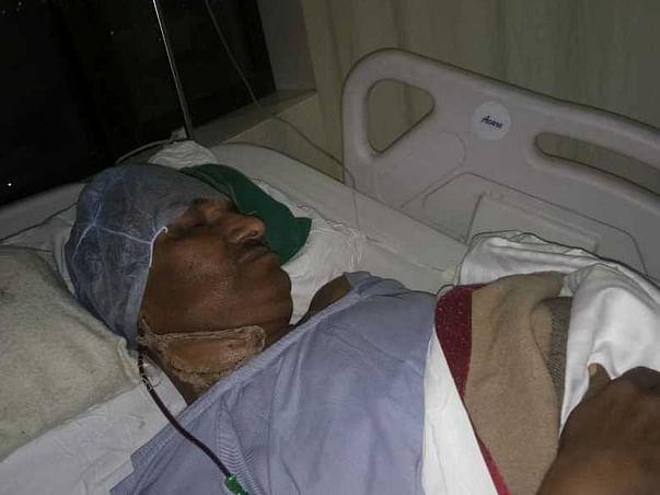 Help R K Mishra Battle Oral Cancer