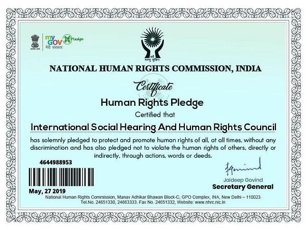 International Social Hearing And Human Rights Council