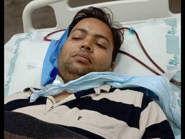 Support Abhishek Kumar Pandey To Recover!