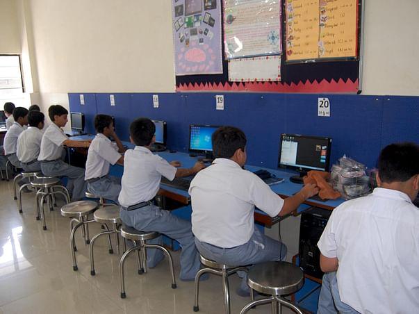 Aditya Computer Classes For Poor Children