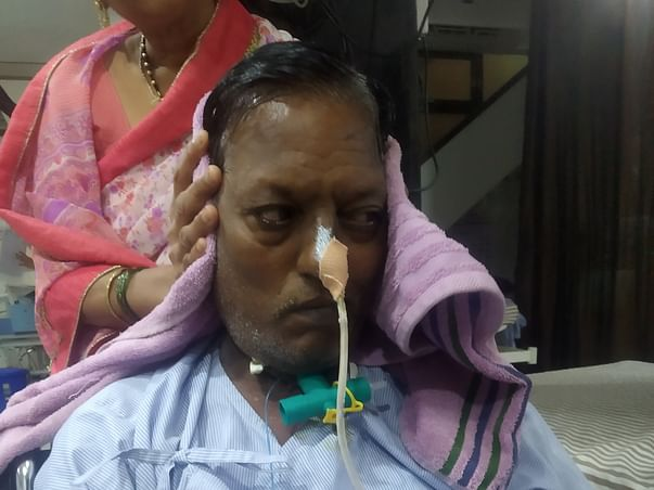 Help My Father Get Treated For Brain Hemorrhage