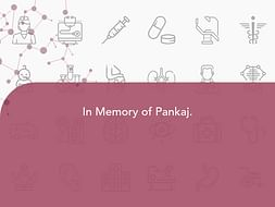 In Memory of Pankaj.