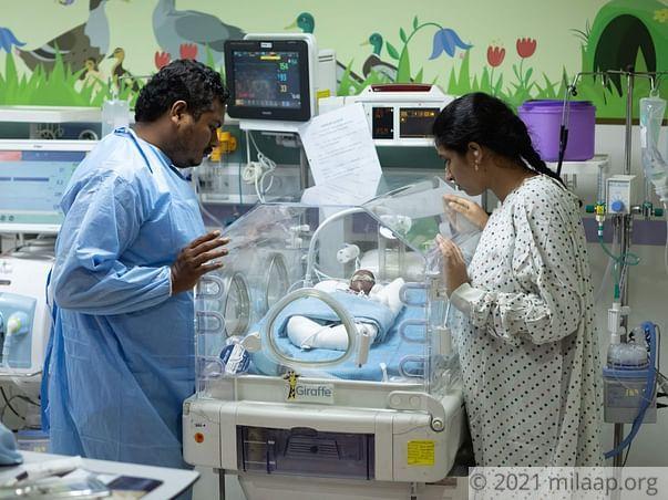 Help Mounika's Baby Survive