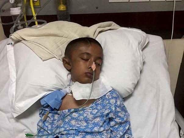 Help My Son From Brain Haemorrhage