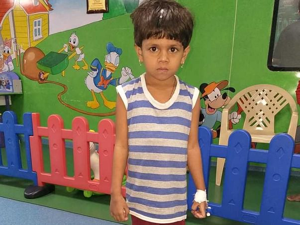 Support 5 Years Old Ankitha Fight Cancer