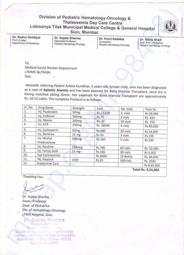 Hospital Addmission Paper