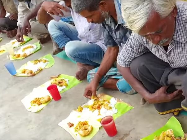 Support Dilip to feed poor people on father death anniversary