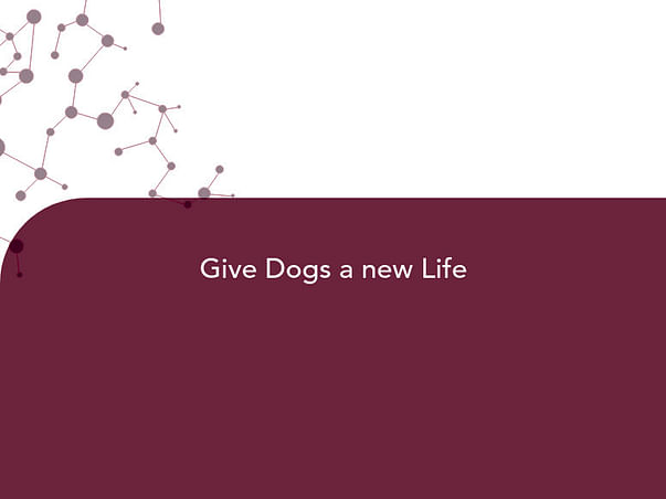 Give Dogs a new Life