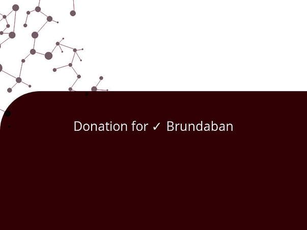 Donation for ✓ Brundaban