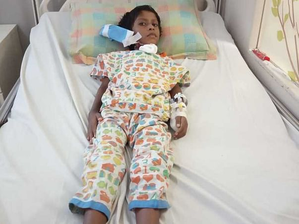 Support 7 Year Old N Muni Medical Treatment Of Major Heart Surgery