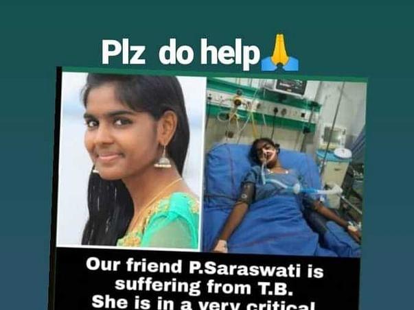 Help Saraswathi Fight Tuberculosis