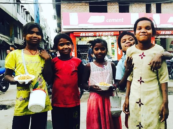 Help Kids like Aarti to get at least one time meal