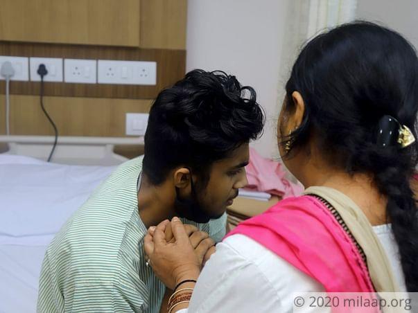 Help Alqab Khan Fight Osteosarcoma