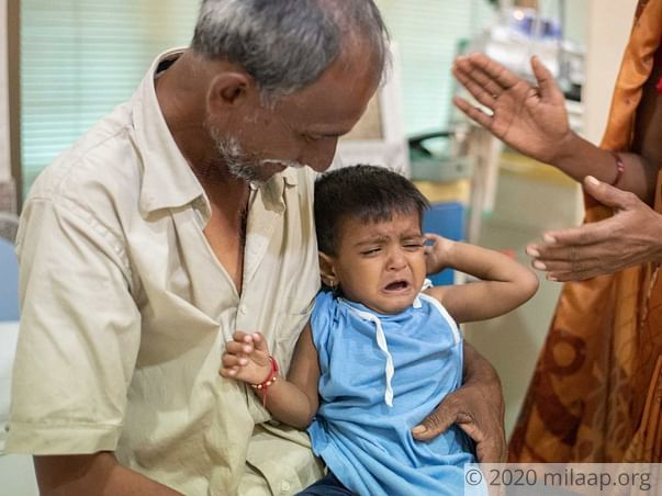 Help Atharva Mhende Recover From Congenital Heart Disease
