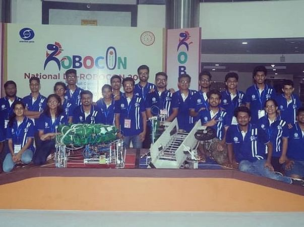 Support Robocon Team Rudra!