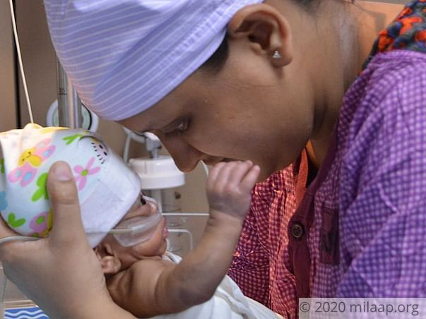 Help Vijaya Patel's Premature Baby Survive