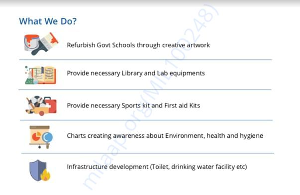 What we will do in 150 Govt Schools