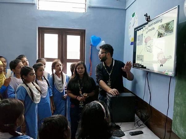 Help Muskaan Dreams to transform rural schools into digital classrooms