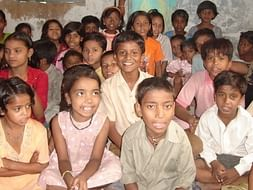 Distribution of Notebook and other study Material to Poor Children