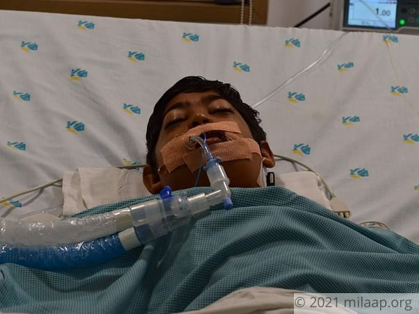 Help Sumanth Recover From Diphtheria