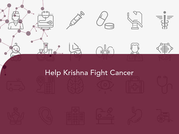 Help Krishna Fight Cancer