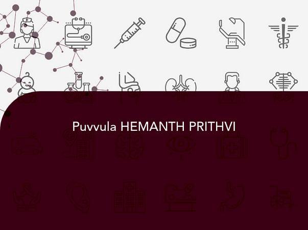 Puvvula HEMANTH PRITHVI