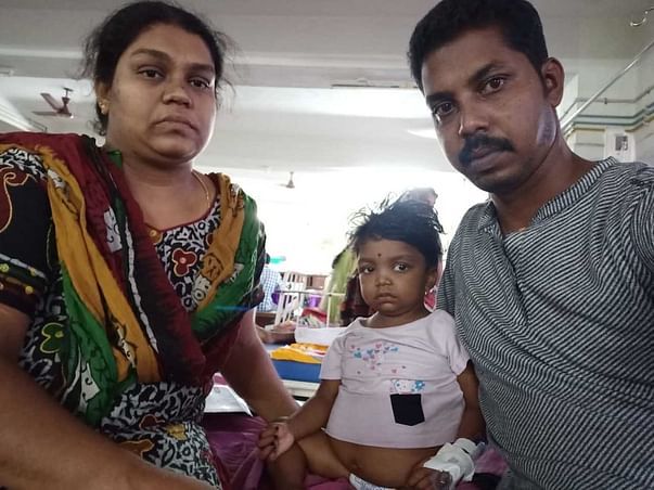 Help and Save 3 Year-Old-Baby Riyana Revicer From Kidney Failure