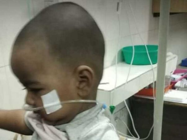 Ayman fighting for his life