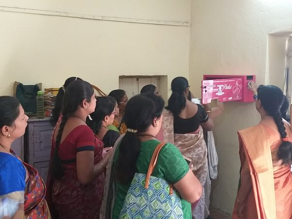 Donate To Install A Sanitary Pad Vending Machine In Remote Villages.