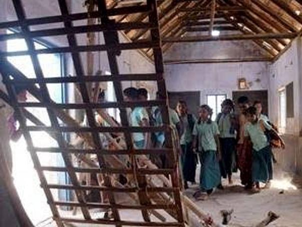 Help to reconstruct the burnt school